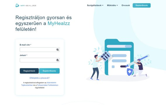 Webportál fejlesztés